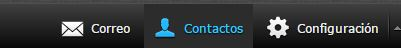contactos webmail roundcube