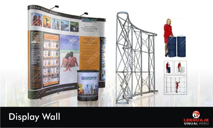 Display Publicitario Wall Diseño e Impresion
