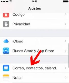 configurar correo en iphone-2