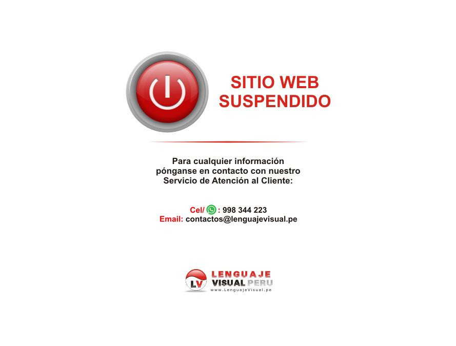 Web Suspendida